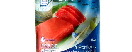 Retail Ready Pouches - Sushi Fish Tuna Saku